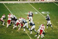 New England Patriots offense. Stock Photography