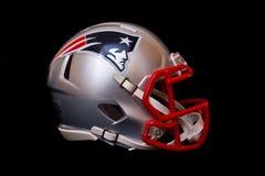 New England Patriots-Sturzhelm Lizenzfreies Stockfoto