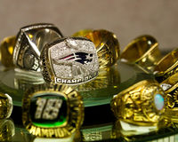 Patriots Superbowl Ring Stock Photo