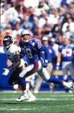 New England Patriots WR Terry Glenn Imagenes de archivo