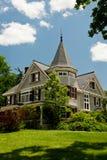 New England Queen Ann. A Queen Ann style Victorian house in rural New Hampshire Stock Photos