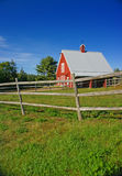 New England red barn Stock Image