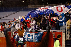 New England Revolution Fans Stock Photography