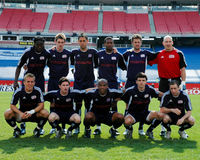 New England Revolution Team photo. Royalty Free Stock Photo