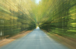 New England Road blurred Royalty Free Stock Image