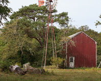 New England rustic barn Royalty Free Stock Photography