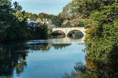 New England Stone Bridge Stock Image