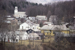 New England town Stock Images
