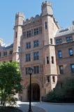 New England university. Facade of New England university Royalty Free Stock Photos