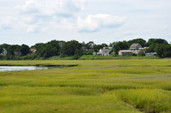 New England wetland landscape Stock Photos