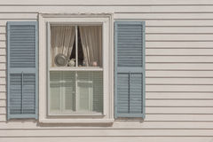 New England window Stock Image