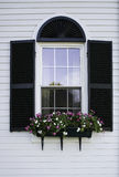New England Window Royalty Free Stock Image