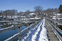 Free New England Winter Royalty Free Stock Photography - 18043907