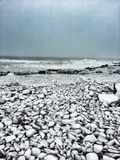 A New England Winter. The Backshore of Gloucester Stock Photos