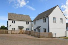 New English House Stock Photography