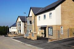 New English Houses Royalty Free Stock Image