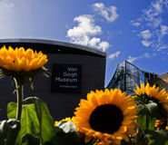 New Entrance Hall Van Gogh museum Royalty Free Stock Photography