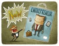 New entrepreneur Royalty Free Stock Photography
