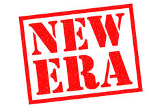 NEW ERA Rubber Stamp Royalty Free Stock Photo
