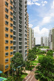 New Estate. A new colorful neighborhood estate in Singapore Stock Image