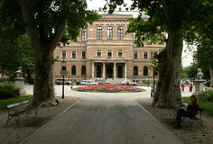 New EU Member / Croatian Academy of Sciences and Arts Royalty Free Stock Images