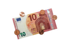 New 10 Euro Banknote 2014 Stock Images