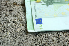 New euro banknotes Royalty Free Stock Photos