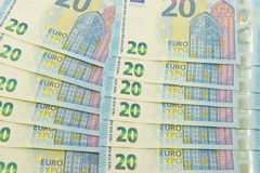 New euro currency Royalty Free Stock Photo