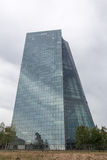 New european central bank in frankfurt germany Royalty Free Stock Photography