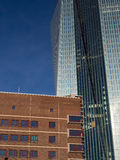 The new European Central Bank Headquarters, ECB, EZB, Frankfurt,. Germany Royalty Free Stock Photography