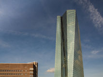 The new European Central Bank Headquarters,Frankfurt, Stock Images