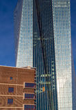 The new European Central Bank Headquarters,Frankfurt, Royalty Free Stock Images