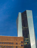The new European Central Bank Headquarters, Frankfurt, Royalty Free Stock Images