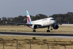 New Eurowings airline Stock Photography
