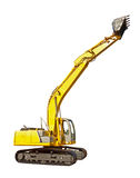 New excavator Royalty Free Stock Photo