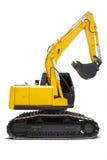 New excavator isolated Stock Photo
