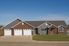 New Executive Ranch Home Stock Photo