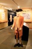 New exhibit called 'Founding Fashion', Fort Ticonderoga,New York,2014 Stock Photo