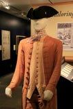 New exhibit, 'Founding Fashion', Fort Ticonderoga,New York,2014 Royalty Free Stock Image