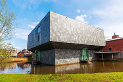 New extension of the Van Abbemuseum in Eindhoven. Eindhoven, Netherlands - April 12, 2016: new extension of the Van Abbemuseum. Its a museum of modern and Stock Photos