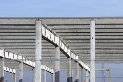New factory construction site Royalty Free Stock Images