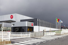 The new factory of the iconic Leica camera manufacturer in Portugal. Vila Nova de Famalicao, Portugal. March, 2013: The new factory of the iconic Leica camera Stock Images
