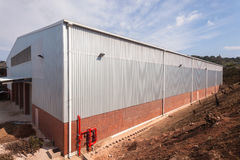 New Factory Warehouse Building Royalty Free Stock Image