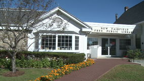 New Fairfield Free Public Library (3 of 6) stock video footage