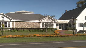 New Fairfield Free Public Library (5 of 6) stock footage