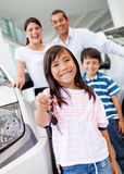 New family car Stock Images