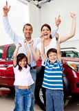 New family car Royalty Free Stock Photos