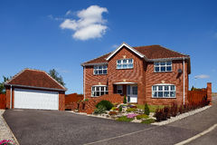 New family house royalty free stock images