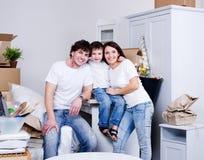 New family's home Stock Photos