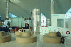 New family zone at Dubai airport Royalty Free Stock Photo